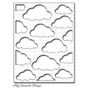 DIE-NAMICS CLOUD COVER UP DIE from My Favorite Things MFT Stamps