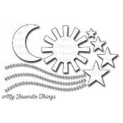 DIE-NAMICS SUN, MOON, & STARS DIE SET from My Favorite Things MFT Stamps