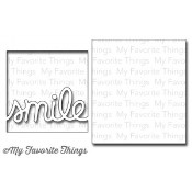 DIE-NAMICS TRANSFORM-ABLES SMILE DIE SET from My Favorite Things MFT Stamps