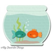 DIE-NAMICS FISHBOWL DIE SET from My Favorite Things MFT Stamps