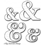 **REORDER** DIE-NAMICS AMPERSAND DIE SET from My Favorite Things MFT Stamps