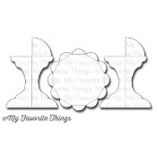 DIE-NAMICS CUPCAKE STAND DIE SET Laina Lamb Designs from My Favorite Things MFT Stamps