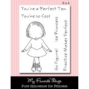 ICE PRINCESS Clear Stamp Set Pure Innocence Collection from My Favorite Things MFT Stamps