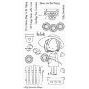 SUNFLOWER SWEETHEART Clear Stamp Set Birdie Brown Designs from My Favorite Things MFT Stamps