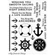 GO OVERBOARD Clear Stamp Set Die-Namics Companion Collection from My Favorite Things MFT Stamps