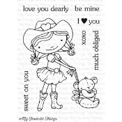 SWEET ON YOU Clear Stamp Set Doodle Garden Collection from My Favorite Things MFT Stamps