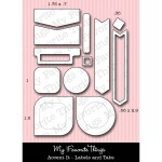 DIE-NAMICS ACCENT IT - LABELS AND TAGS Die Set from My Favorite Things MFT Stamps