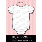 DIE-NAMICS BABY ONESIE DIE from My Favorite Things MFT Stamps
