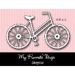 DIE-NAMICS BICYCLE DIE SET from My Favorite Things MFT Stamps