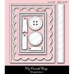 DIE-NAMICS BLUEPRINTS 1 DIE SET from My Favorite Things MFT Stamps