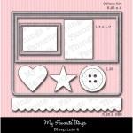 DIE-NAMICS BLUEPRINTS 4 DIE SET from My Favorite Things MFT Stamps