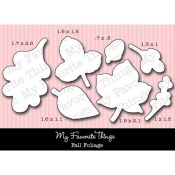 DIE-NAMICS FALL FOLIAGE DIE Lisa Johnson Designs from My Favorite Things MFT Stamps
