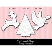 DIE-NAMICS STARRY CHRISTMAS DIE SET Mona Pendleton Designs from My Favorite Things MFT Stamps