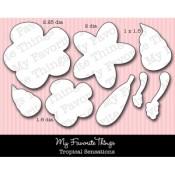 DIE-NAMICS TROPICAL SENSATIONS DIE SET from My Favorite Things MFT Stamps