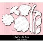 DIE-NAMICS ROSE BOUQUET DIE SET Mona Pendleton Designs from My Favorite Things MFT Stamps