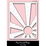 DIE-NAMICS SUN RAY DIE SET from My Favorite Things MFT Stamps