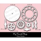 DIE-NAMICS TIME PIECES DIE from My Favorite Things MFT Stamps