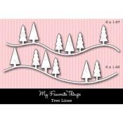 DIE-NAMICS TREE LINES DIE SET from My Favorite Things MFT Stamps