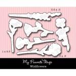DIE-NAMICS WILDFLOWERS DIE SET Lisa Johnson Collection from My Favorite Things MFT Stamps