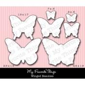 DIE-NAMICS WINGED BEAUTIES DIE Mona Pendleton Designs from My Favorite Things MFT Stamps