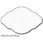 DIE-NAMICS VINTAGE FRAME DIE Lisa Johnson Designs from My Favorite Things MFT Stamps