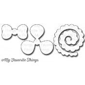 DIE-NAMICS HYBRID CAMELLIA FLOWER DIE from My Favorite Things MFT Stamps