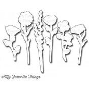 DIE-NAMICS GRAND PEACEFUL WILDFLOWERS DIE SET Lisa Johnson Designs from My Favorite Things MFT Stamps