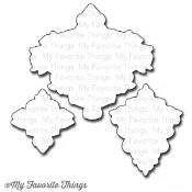 DIE-NAMICS DAMASK DESIGNS DIE SET Mona Pendleton Designs from My Favorite Things MFT Stamps