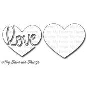 DIE-NAMICS TRANSFORM-ABLES HEART FULL OF LOVE DIE SET from My Favorite Things MFT Stamps
