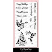 STARRY CHRISTMAS Clear Stamp Set Mona Pendleton Designs from My Favorite Things MFT Stamps