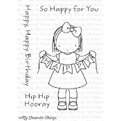 HAPPY BANNER Clear Stamp Set Pure Innocence Collection from My Favorite Things MFT Stamps