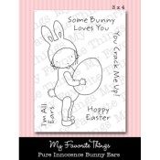 BUNNY EARS Clear Stamp Set Pure Innocence Collection from My Favorite Things MFT Stamps
