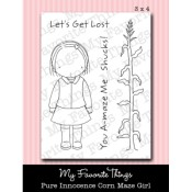 CORN MAZE GIRL Clear Stamp Set Pure Innocence Collection from My Favorite Things MFT Stamps