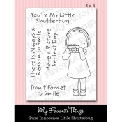 LITTLE SHUTTERBUG Clear Stamp Set Pure Innocence Collection from My Favorite Things MFT Stamps
