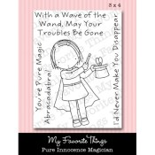 MAGICIAN Clear Stamp Set Pure Innocence Collection from My Favorite Things MFT Stamps