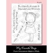 MAKE A WISH Clear Stamp Set Pure Innocence Collection from My Favorite Things MFT Stamps