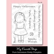 PRETTY PUMPKIN Clear Stamp Set Pure Innocence Collection from My Favorite Things MFT Stamps