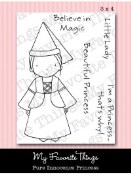 PRINCESS Clear Stamp Set Pure Innocence Collection from My Favorite Things MFT Stamps
