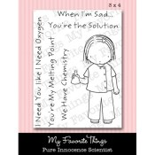 SCIENTIST Clear Stamp Set Pure Innocence Collection from My Favorite Things MFT Stamps
