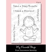 SERENITY Clear Stamp Set Pure Innocence Collection from My Favorite Things MFT Stamps