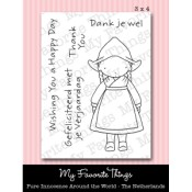 AROUND THE WORLD - THE NETHERLANDS Clear Stamp Set Pure Innocence Collection from My Favorite Things MFT Stamps