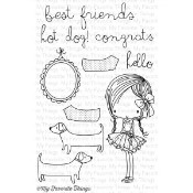 BEST FRIENDS Clear Stamp Set Wendy Burns Collection from My Favorite Things MFT Stamps