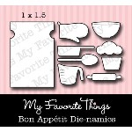 DIE-NAMICS BON APPETIT DIE from My Favorite Things MFT Stamps