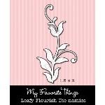 DIE-NAMICS LEAFY FLOURISH DIE from My Favorite Things MFT Stamps