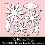 DIE-NAMICS UPSY DAISY DIE from My Favorite Things MFT Stamps