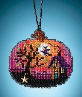 Mill Hill Kit - BEWITCHING PUMPKIN Painted Pumpkins Charmed Ornaments