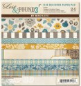 LOST & FOUND 3 OLIVER 6x6 Scrapbook Patterned Paper Pack from My Mind's Eye