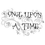ONCE UPON Sentiment Stickable Rubber Stamp from Great Impressions