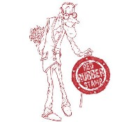 OLD CALVINS FLOWER SURPRISE Rubber Stamp from Make It Crafty