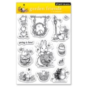 GARDEN FRIENDS Clear Stamp Set from Penny Black